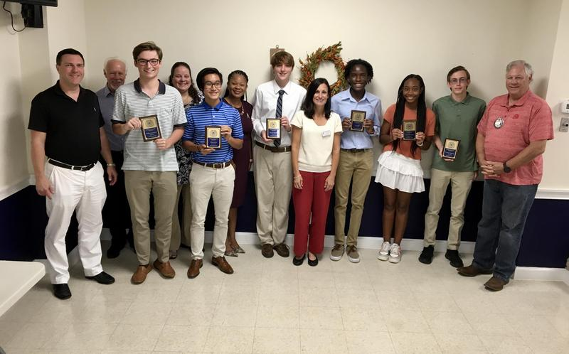Exchange Club Students of the Month Featured Photo