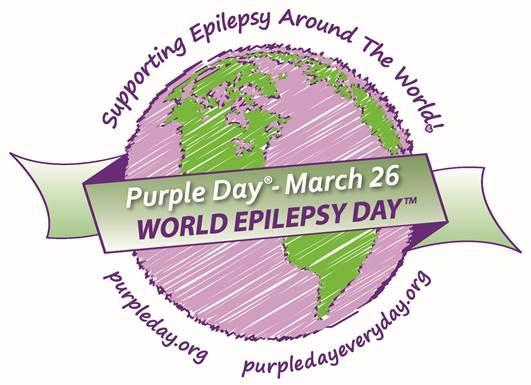 Purple Day for Epilepsy Awareness - March 26, 2019