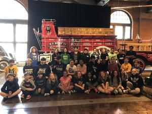 5th Grade Visits History Center