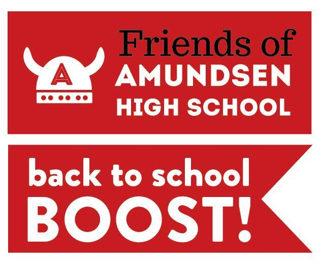 Friends of Amundsen Back to School Boost! Featured Photo