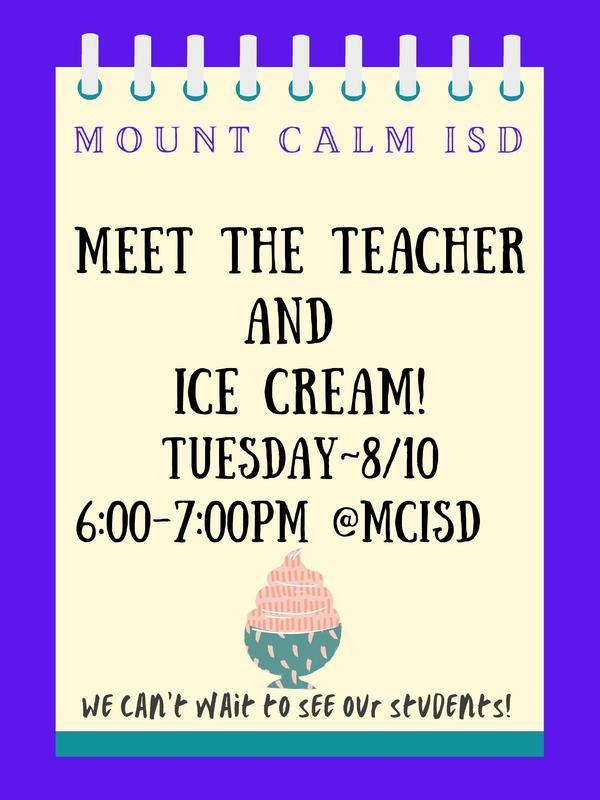 Meet the Teacher Ice Cream Social