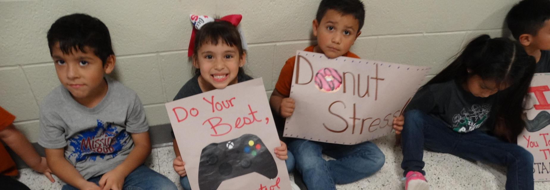 Lower grades showing STAAR support