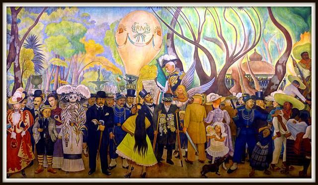 México: Museo Mural Diego Rivera