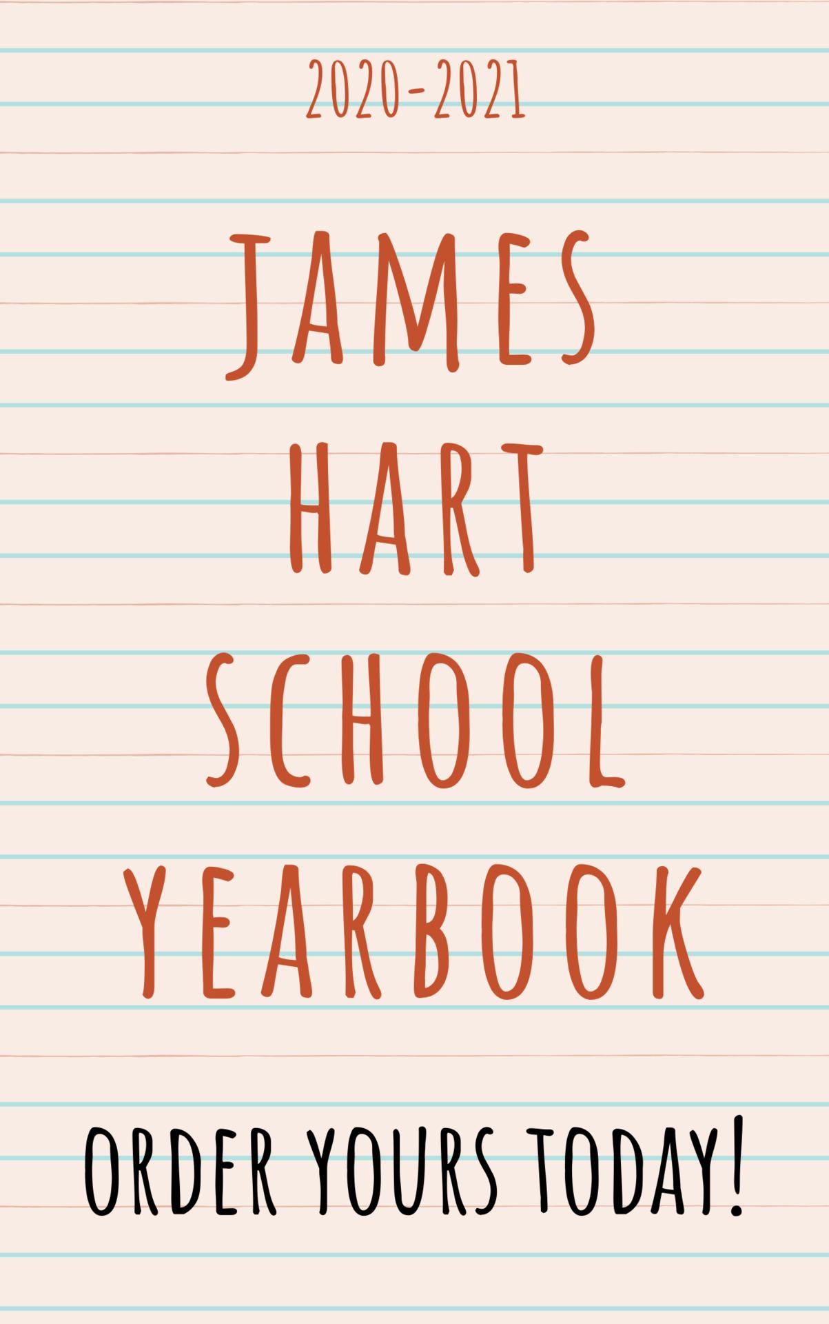 Order Your James Hart Yearbook