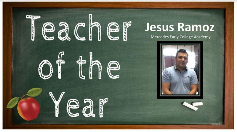 MECA Teacher of the Year. Jesus Ramoz Featured Photo