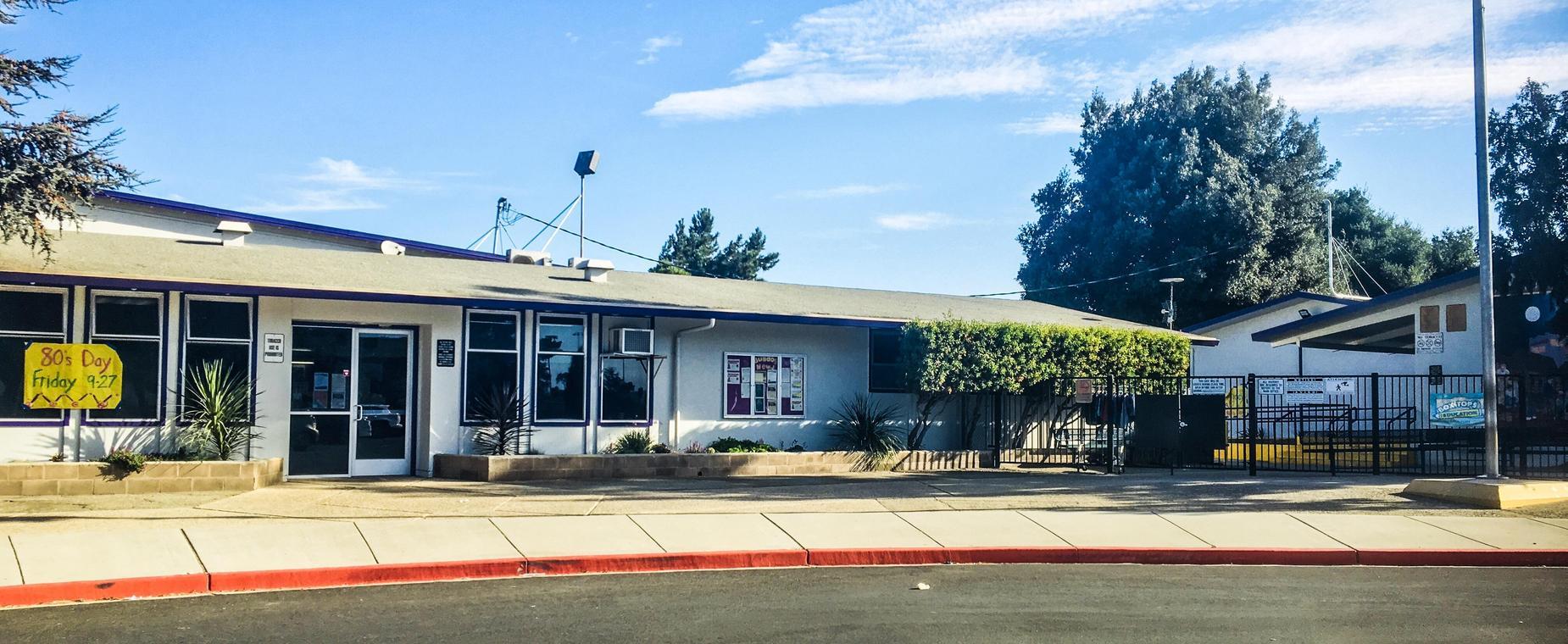Front of La Gloria Elementary