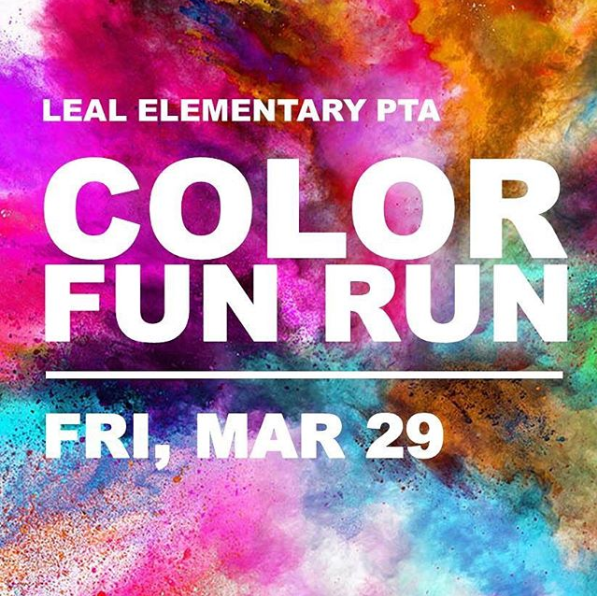 PTA Color Run Featured Photo