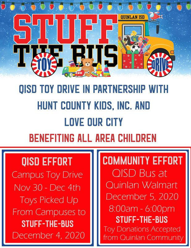 Stuff the Bus Toy Drive Featured Photo