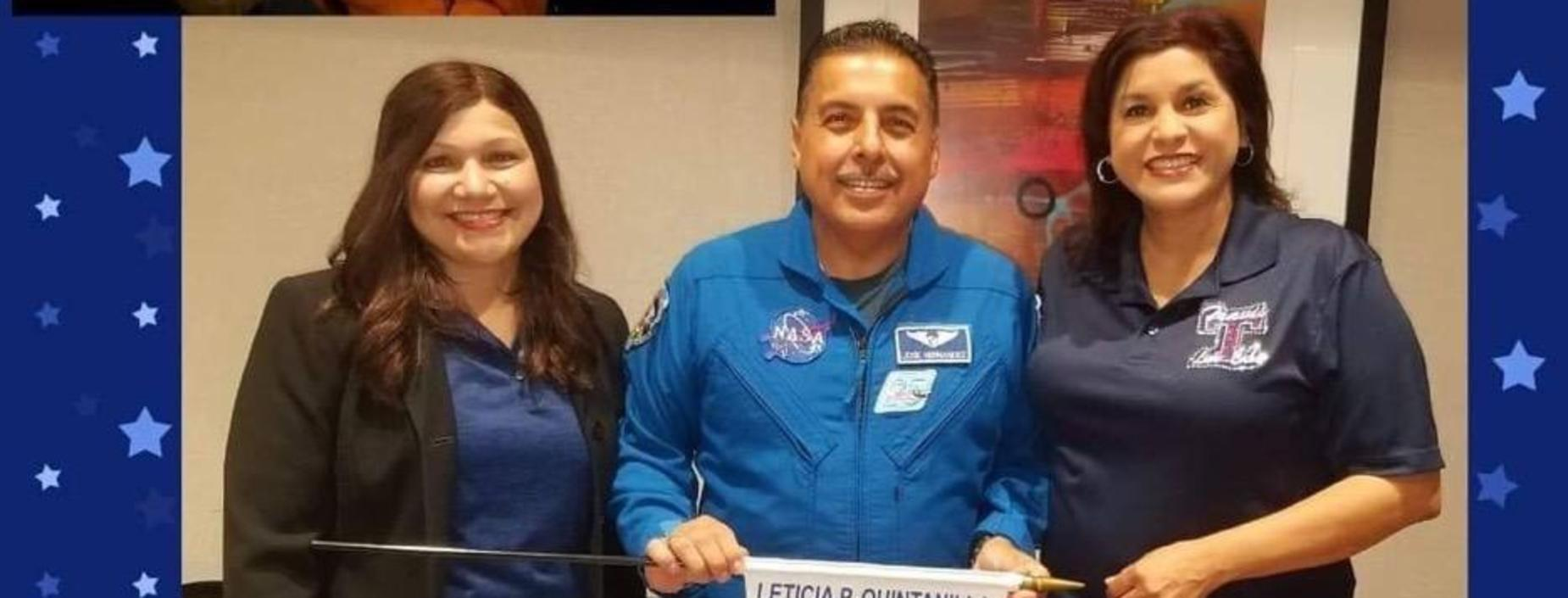 Keynote Speaker Former NASA Astronaut Jose M. Hernandez