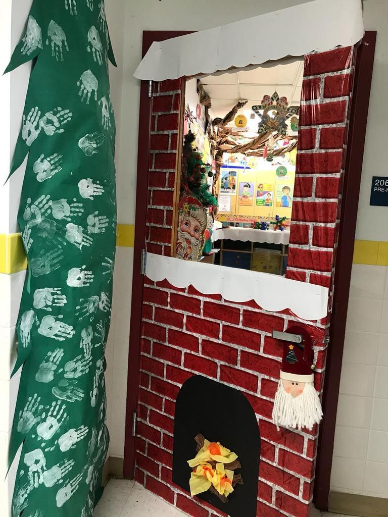 christmas doorway decor