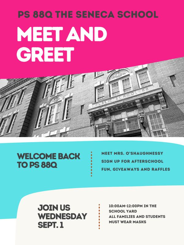 Meet and Greet Sept 1st 10-12