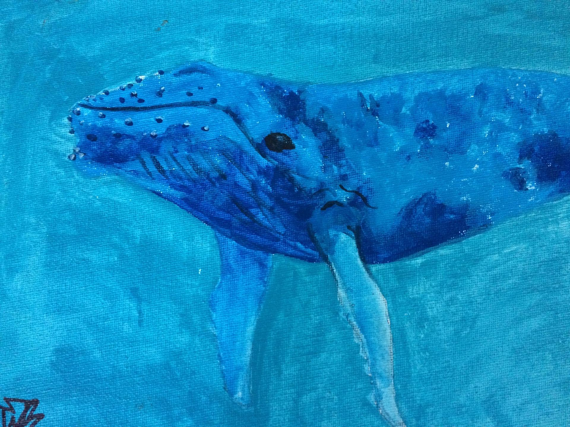 A painting of my favorite animal by one of my favorite humans- a former student!