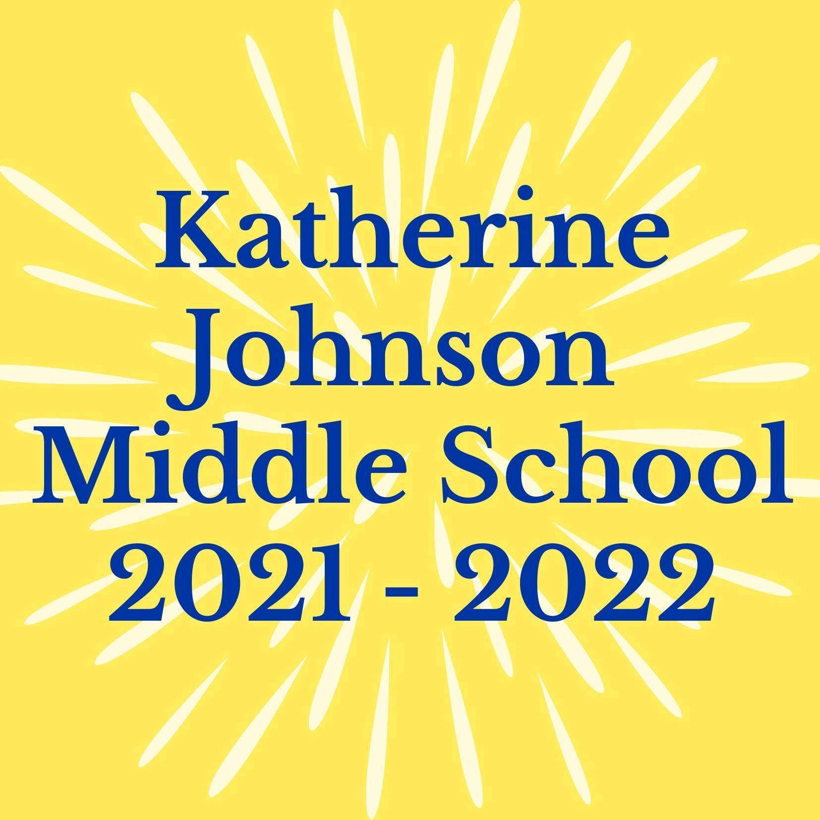 logo for katherine johnson middle school