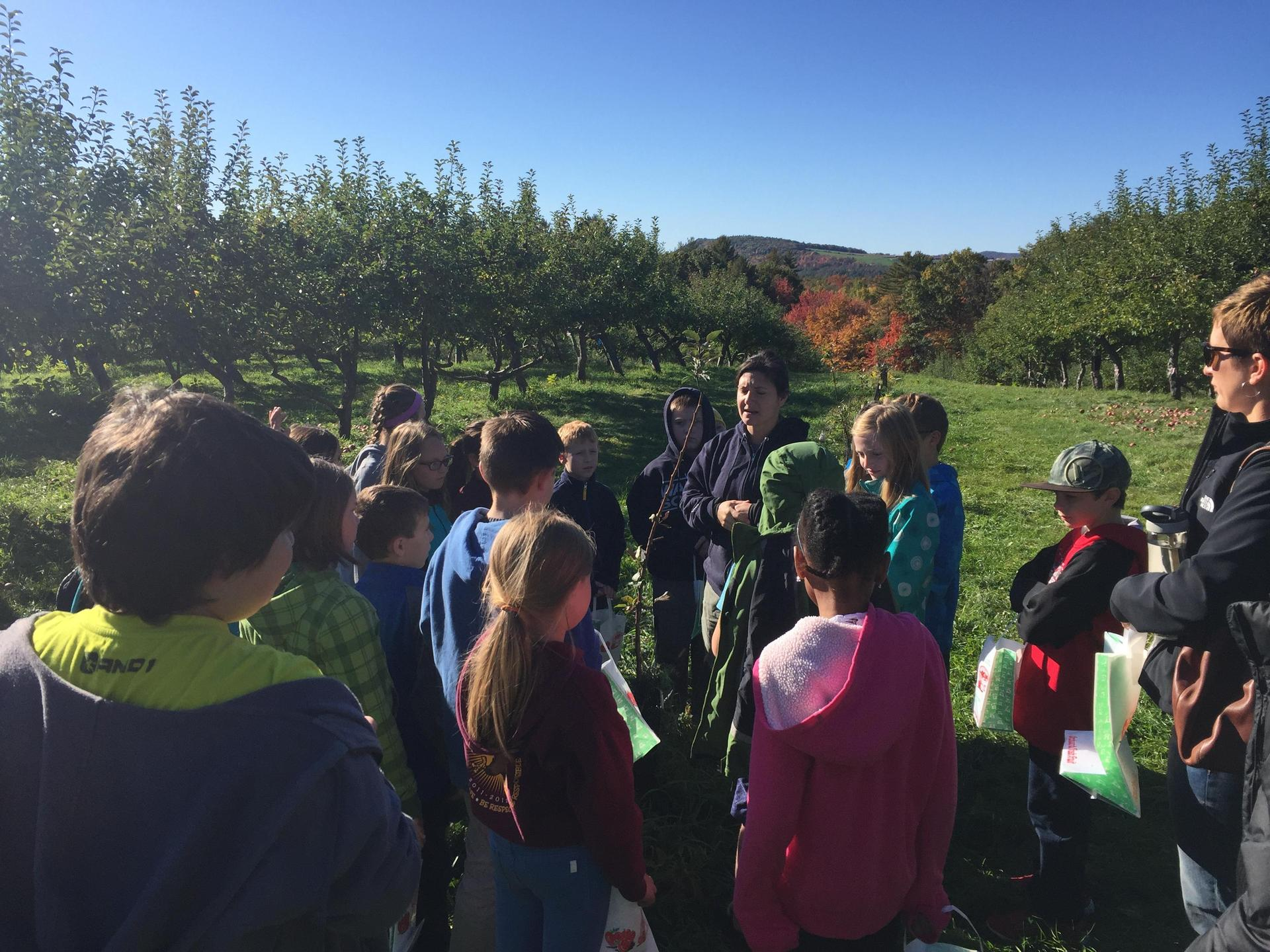 A field trip to Apple Acres