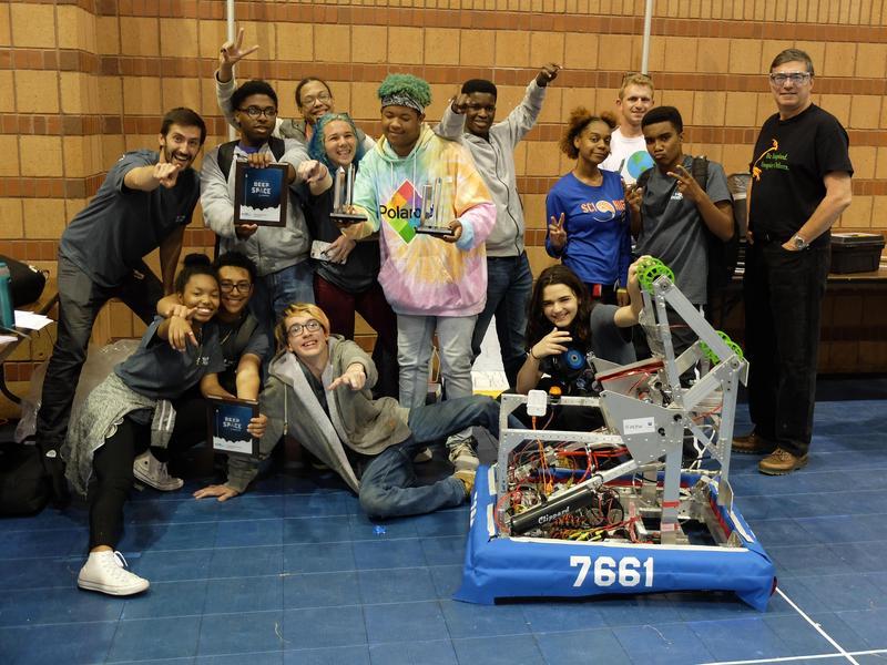 Congratulations to the Sci High Robotics Team! Thumbnail Image