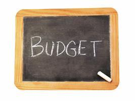 Picture of the word Budget