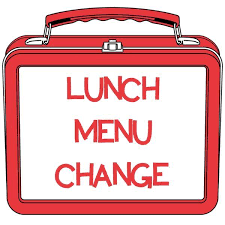 Lunch Menu Change with lunch box