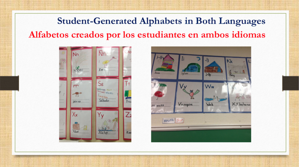 Dual language slide 5