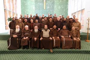 Friars gathered.JPG