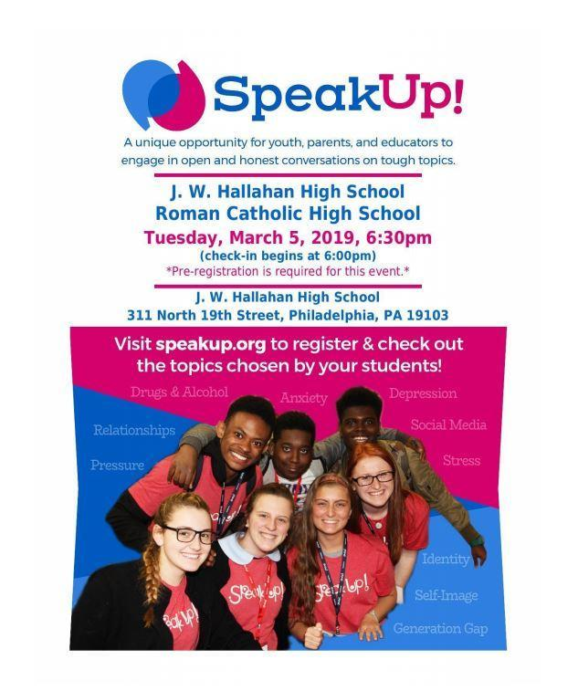 SpeakUp! Featured Photo