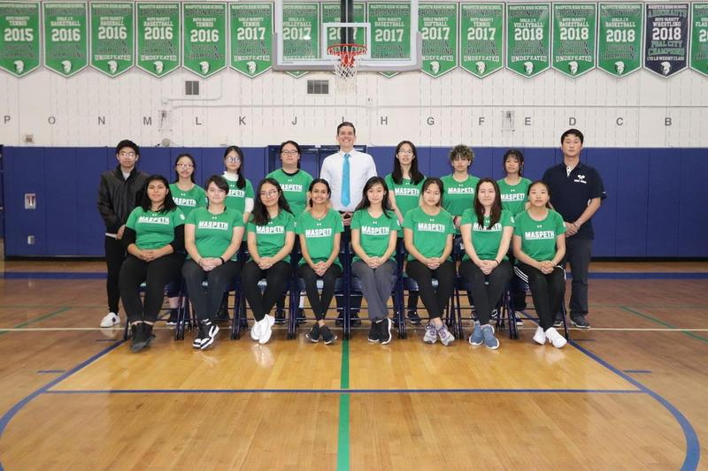 Maspeth High School Girls Varsity Table Tennis Exits Playoffs; Ranks 2nd in Division Featured Photo