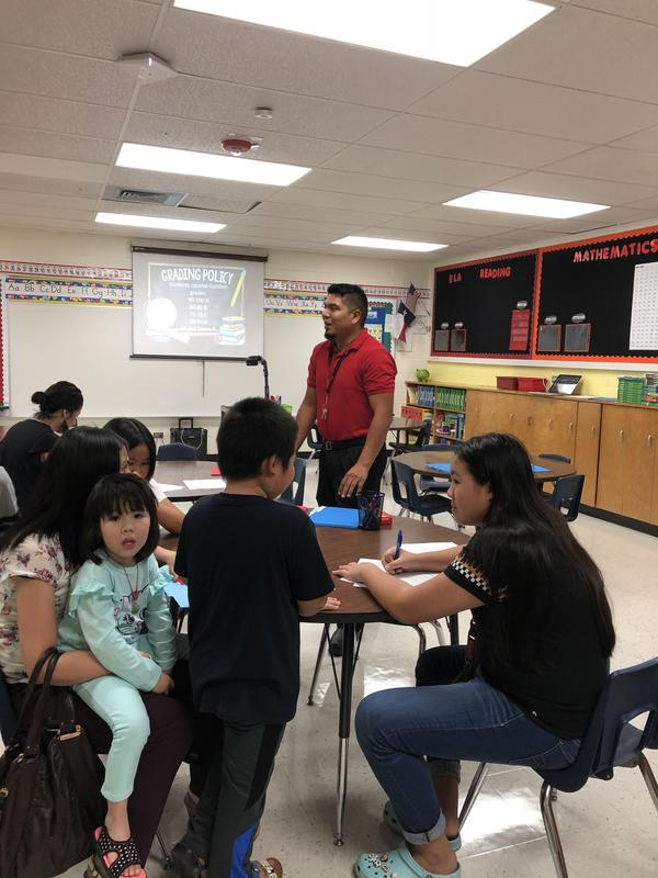 Mr. Hernandez going presenting expectations.
