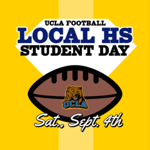 Local HS Student Day with football