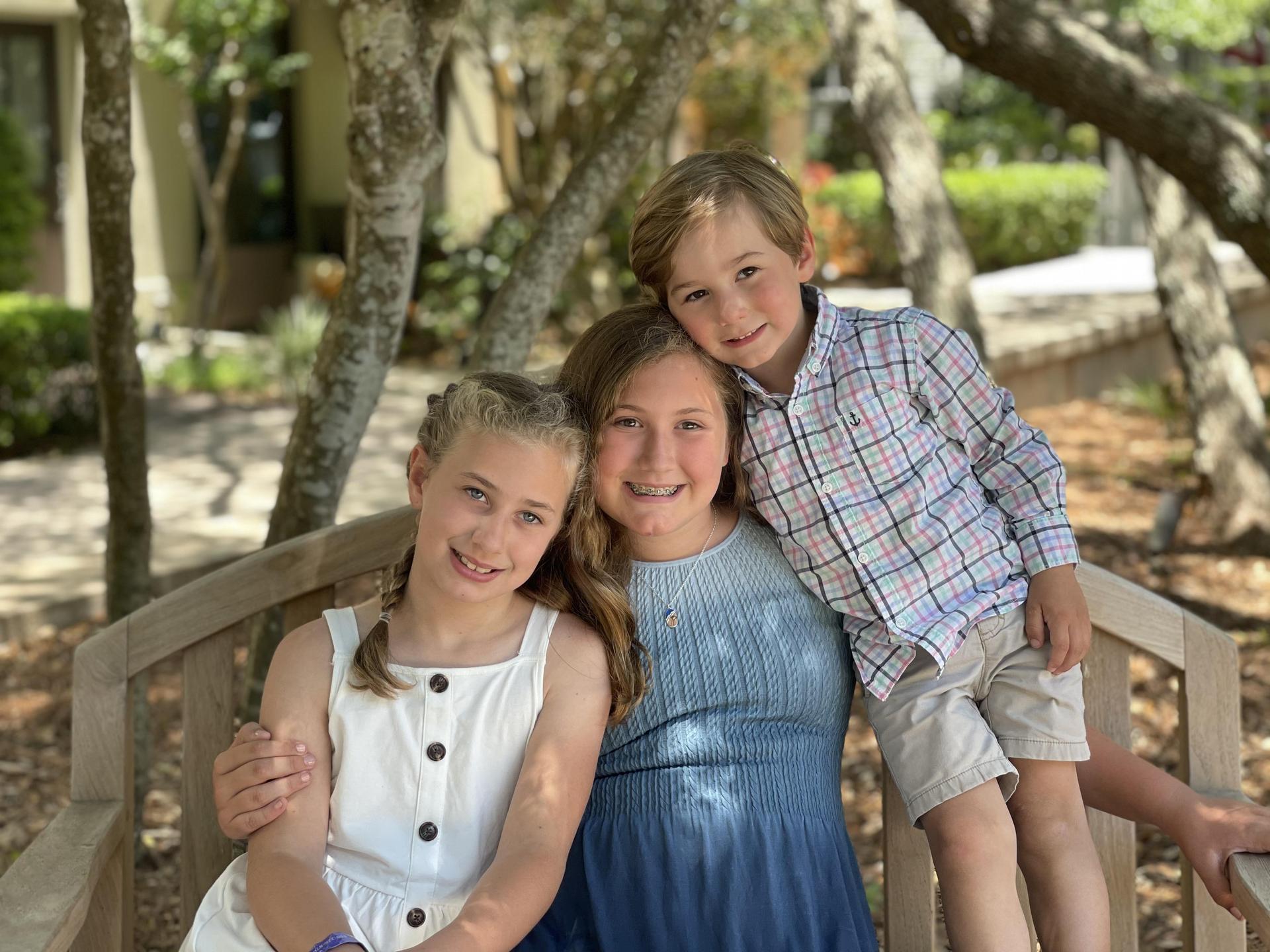 The kiddos!