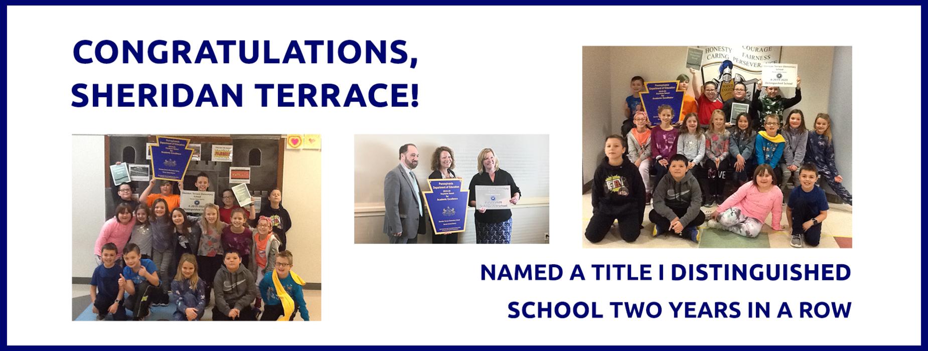 Sheridan Terrace Congratulations