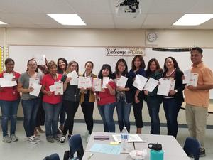 Allison Elementary teachers participated in GRIT sessions during the in-service on September, 11th 2019. The Allison staff had fun during the team building exercises.