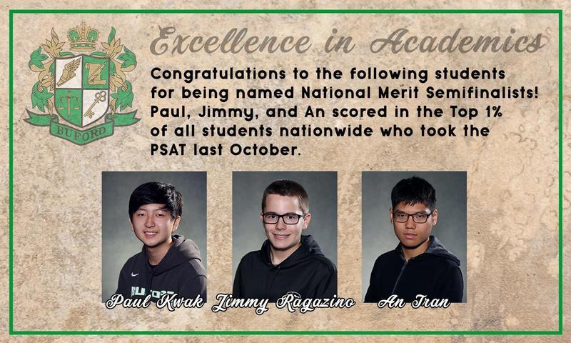 National Merit Semifinalists Featured Photo