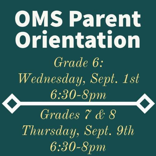 OMS Open House Information