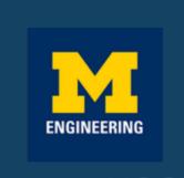 U of M Engineering logo
