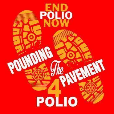 Pounding the pavement 4 Polio