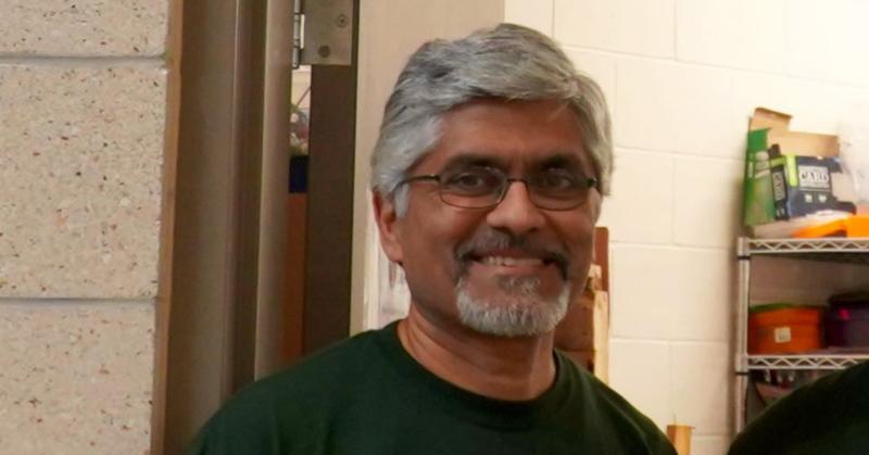 Naveen Cunha Smiling