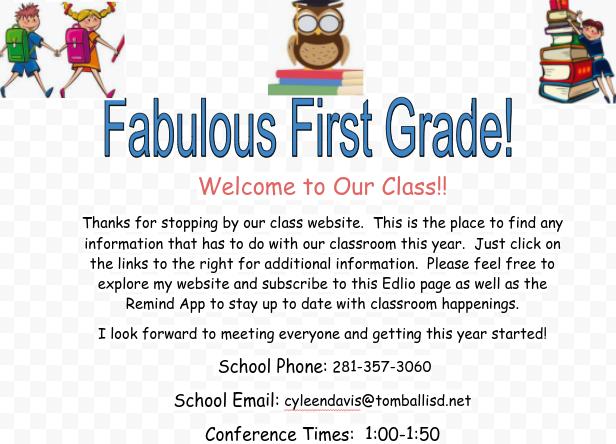Fabulous First Grade!