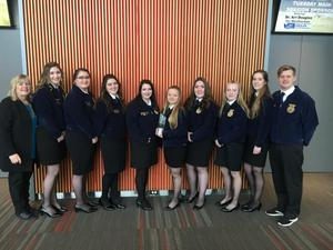 Medical Lake High School FFA Team