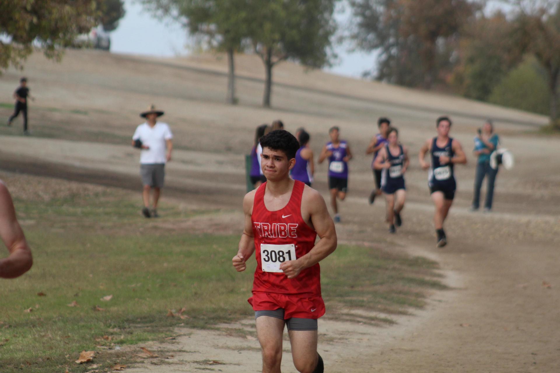 Alfredo Luna running