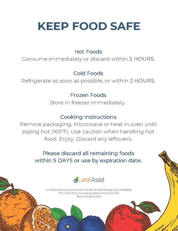 food safety cards