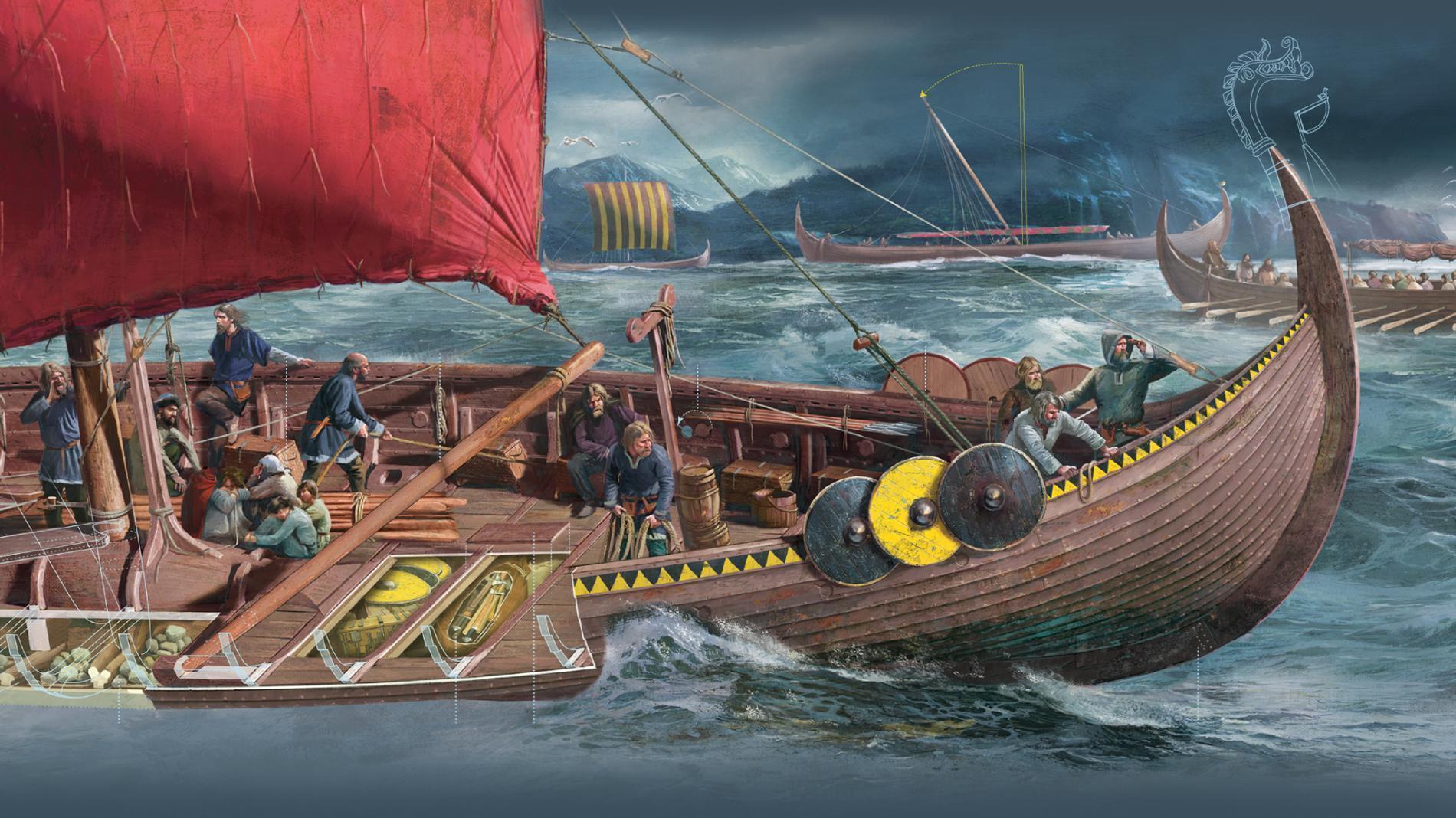 viking looking
