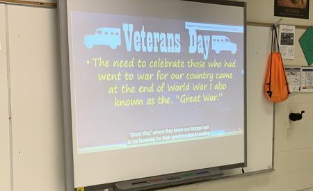 Veterans Day Presentations