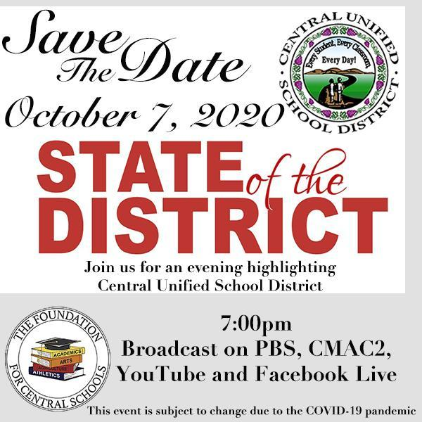 State of the District Flyer