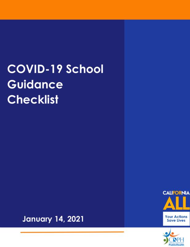 COVID-19 School Guidance Checklist Featured Photo