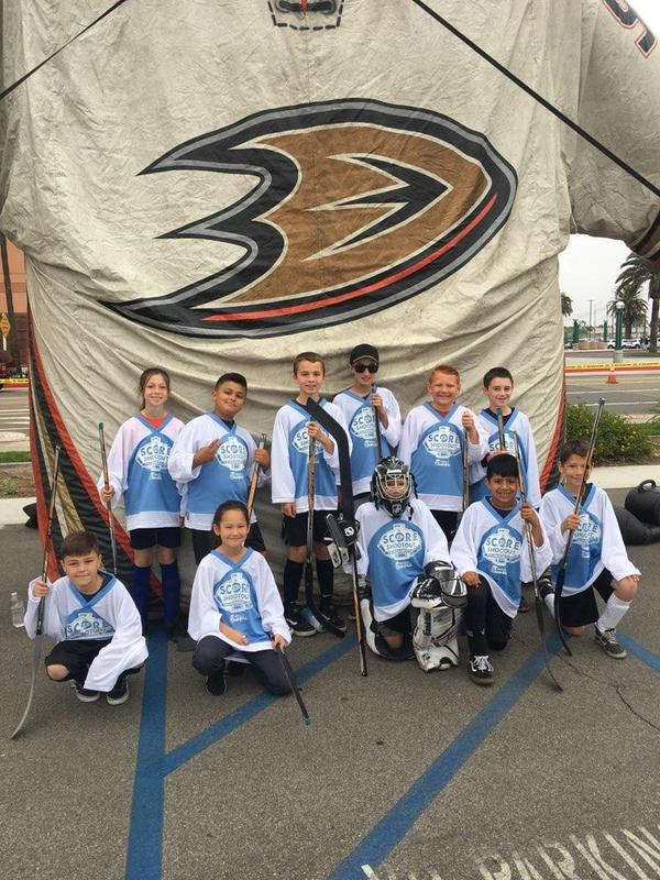 Annual Anaheim Ducks SCORE Street Hockey Featured Photo