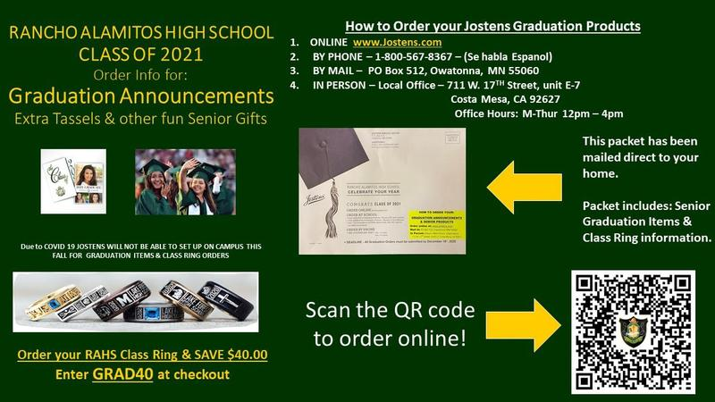 Rancho Alamitos High School Class of 2021 Graduation Products Featured Photo