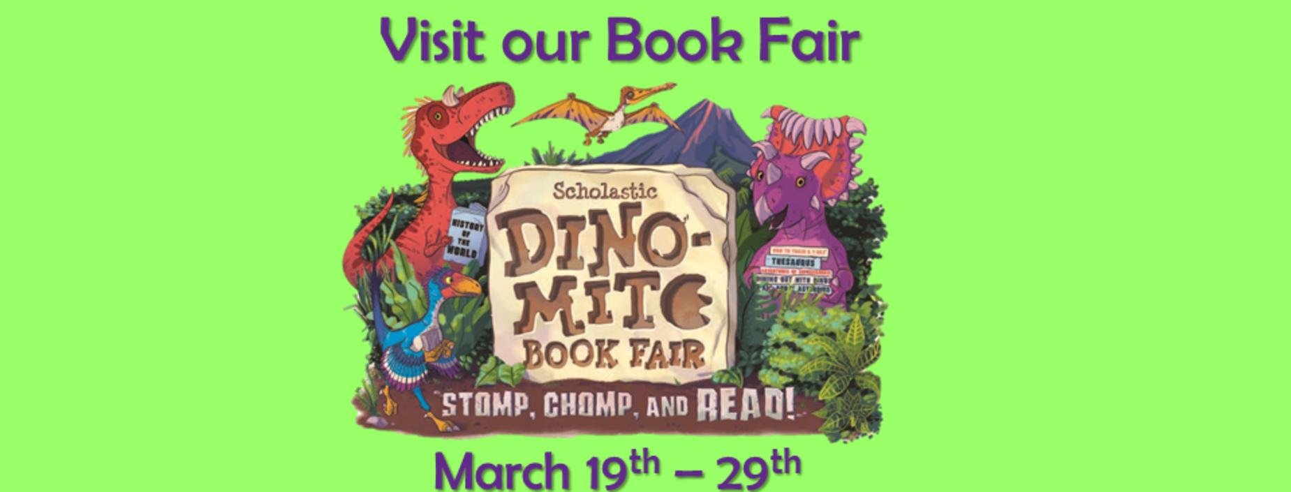 picture of book fair announcement