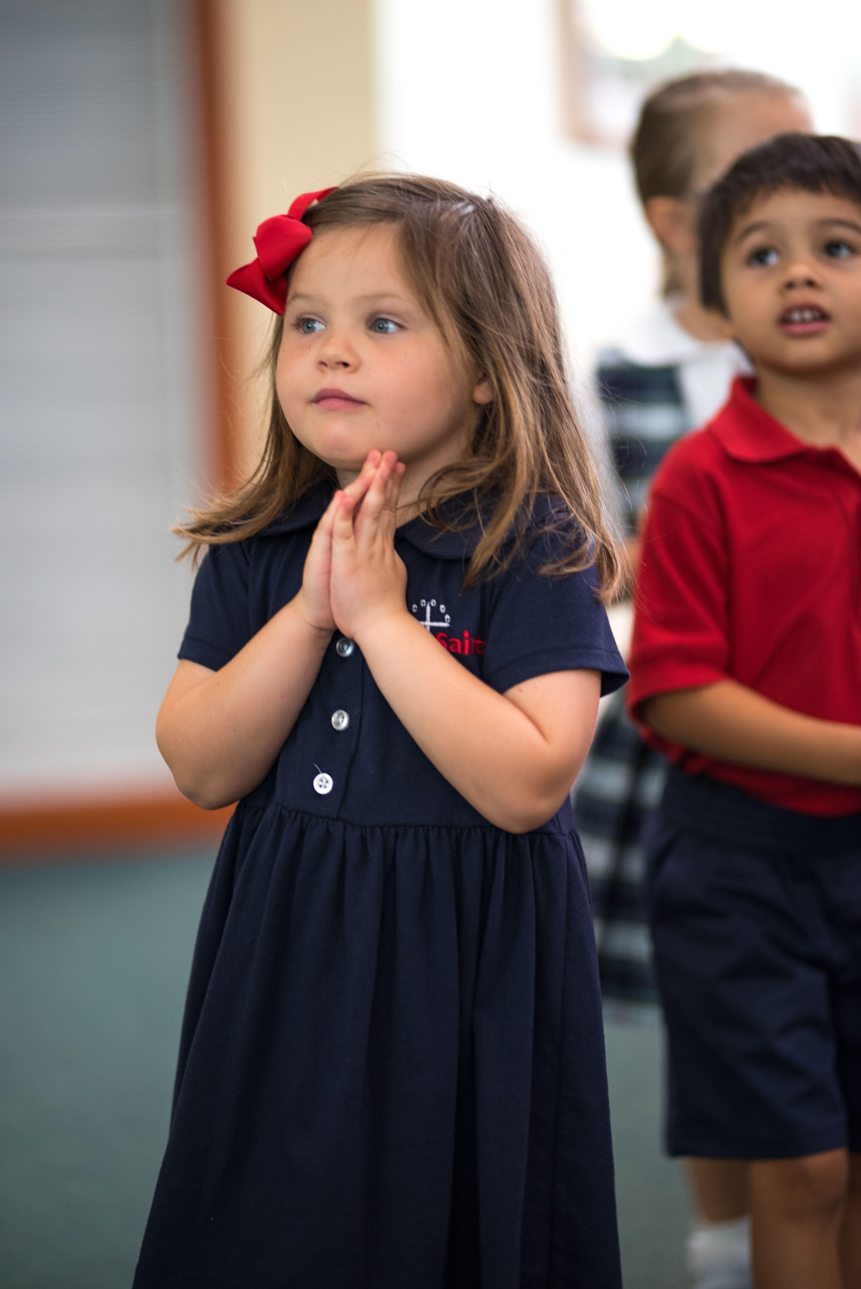 Praying during Liturgy