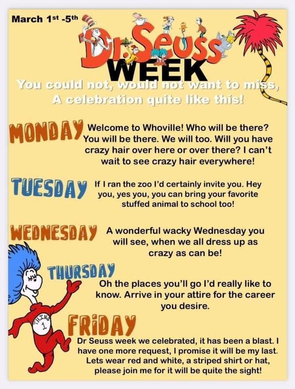 Dr Suess Week