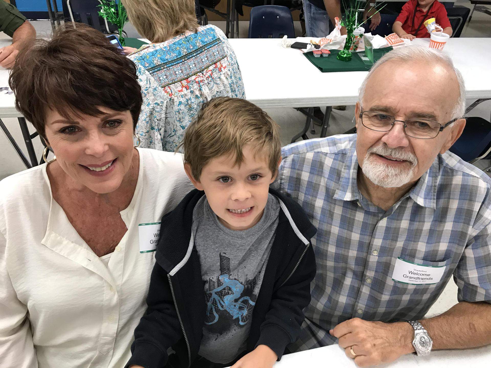 grandparents with young grandson