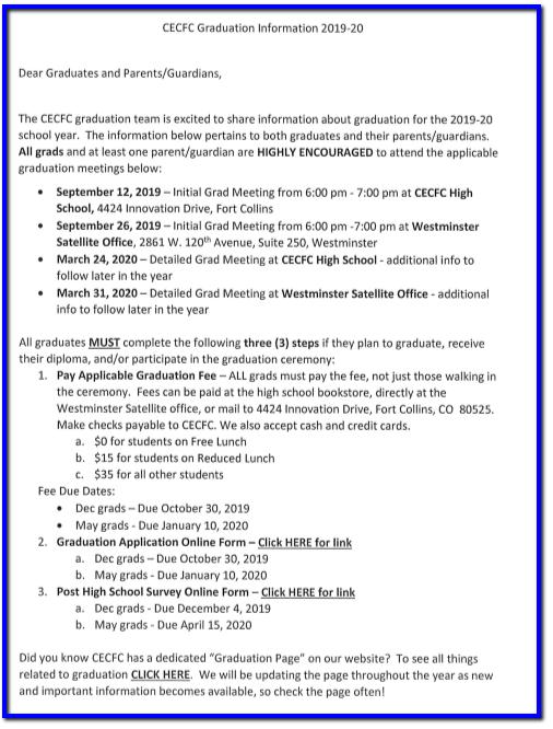 Grad Info Ltr